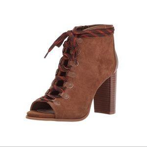 Nine West • Punkrock Suede Ankle Boot Sz 11